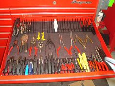 Let's see your pliers racks [ homemade & bought] - Page 6 - The Garage Journal Board