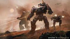 BattleTech Art by Jenn Tran - Album on Imgur