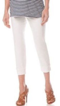 c66609f6ed622 Motherhood Maternity Indigo Blue Secret Fit Belly(r) 5 Pocket Maternity  Crop Jeans