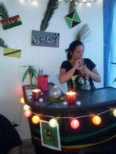 Jamaican party decor