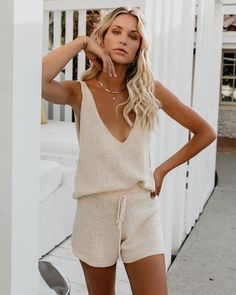 Short Outfits, Summer Outfits, Loungewear Outfits, Markova, Fashion Outfits, Womens Fashion, Fashion Hacks, Fashion Tips, Vogue Fashion