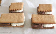Biscotto gelato bigusto tipo Cucciolone o Duetto Dulcisss in forno by Leyla