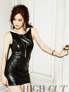 Kim Tae-hee\'s \'High Cut\' Fashion Magazine Shoot