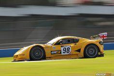 Chevron GR8 GT3 - British GT - Donington Park 2012