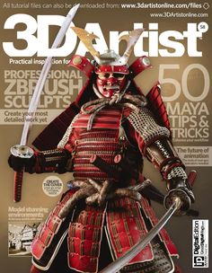 Mj4ia 3d artist issue 58 2013