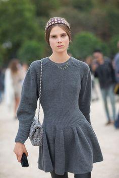 Street Style: Paris Fashion Week Spring 2014 - Caroline Brasch Neilson
