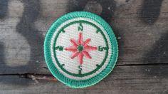 Compass Patch / Traveler Merit Badge / van TheScoutProject op Etsy