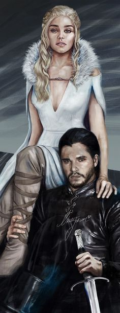Game of Thrones Dessin Game Of Thrones, Arte Game Of Thrones, Winter Is Here, Winter Is Coming, Movies And Series, Movies And Tv Shows, Jon Snow And Daenerys, Daenerys Targaryen, Fan Art