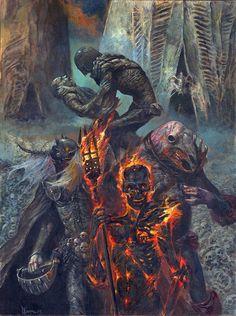 Dark Judges by Dave Kendall