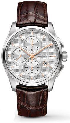 H32596551 - Authorized Hamilton watch dealer - Mens Hamilton Jazzmaster Auto Chrono, Hamilton watch, Hamilton watches