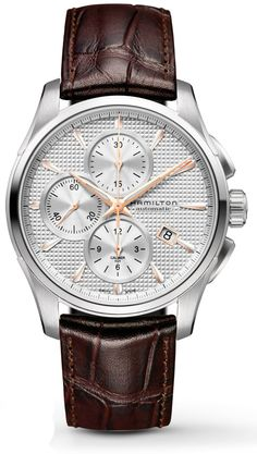 H32596551 - Authorized Hamilton watch dealer - Mens Hamilton Jazzmaster Auto Chrono, Hamilton watch, Hamilton watches