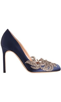Something blue - Manolo Blahnik Swan - $1295