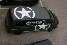 VW T5 IN NATO OLIV   Nato-Oliv.com Vw T5, Volkswagen Bus, T5 Camper, Ducato Camper, Fiat Ducato, Van Signage, Fiat Grande Punto, Truck Design, Auto Design
