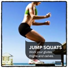 With Summer fast approaching, it's time to get your legs and butt into shape. Jump squats are the perfect complete lower body workout; toning your glutes, thighs and calves.To perform a jump squat, bend your knees slightly, keep your hips back and back straight. Jump straight up and land back into the same spot. To increase the intensity try jumping up onto a knee high bench and back onto the ground. Repeat for 10-20 reps. #nuzest #NuzestExerciseTip #jumpsquats