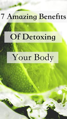 If you've been considering a detox but aren't sure, learning about the many benefits of detoxing your body will help you make up your mind. Healthy Habits, Healthy Life, Detox To Lose Weight, Detox Program, Detox Plan, Natural Detox, Detox Your Body, Natural Energy, How To Increase Energy