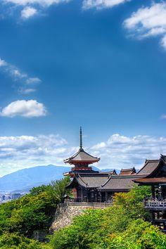 Kiyomizu-dera Temple in Japan