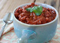 Crock Pot Coconut Curry Baked Beans (vegetarian)   Kitchen Treaty