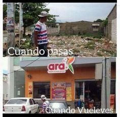 Ignacio Gómez Escobar / Consultor Retail / Investigador: Cuando pasas..... Cuando vuelves