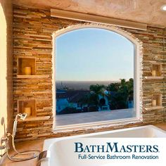 The perfect bathtub with the perfect view? Don't mind if I do!