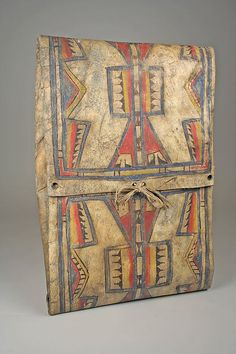 Parfleche | Cheyenne | The Met   A different view