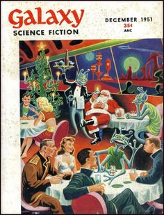 Merry Christmas From Galaxy – Pulp Covers