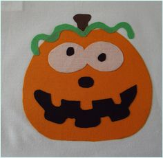 SillyPumpkin PDF Applique Template by SimplyApplique on Etsy, $1.50
