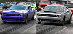 Demon vs Hellcat –1/4 Mile Drag Race !!! Watch now!!!