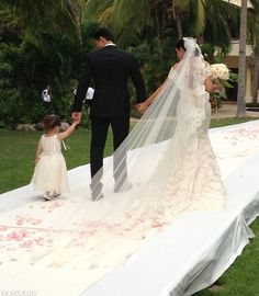 Exclusive: Mario Lopez and Courtney Mazza's Wedding Pictures!