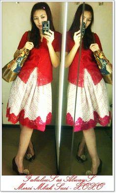 Tutu Skirt in Batik