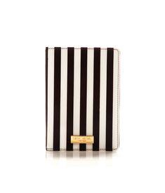 centennial stripe passport cover - travel accessories - designer travel gear