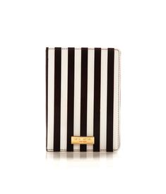 centennial stripe passport cover - travel accessories - designer travel gear