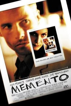 Memento- Might be my favorite Chris Nolan flick