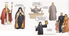 Deux églises, catholiques et orthodoxes - Rostand C116