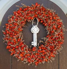 Pracownia Iv Fall Flowers, Dried Flowers, Flower Bouquet Diy, Christmas Wreaths, Christmas Decorations, Boho Diy, Wreath Crafts, How To Make Wreaths, Flower Designs