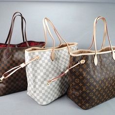 5e9032e44c99 Louis Vuitton Neverfull Handbags I want every single one of them ❤ It Bag