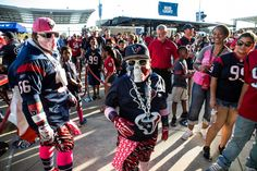 Photos: Fans tailgating at NRG for Texans-Colts game