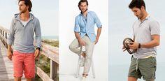 Pantalones de moda para hombre en verano