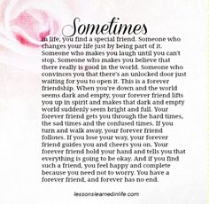 Sometimes in life . . .