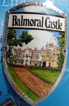 Scotland Balmoral Castle New Badge Mount stocknagel Hiking Medallion G9789   eBay