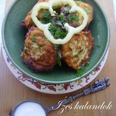 Ízes kalandok: Tökfasírt Polenta, Vegetable Recipes, Baked Potato, Yummy Food, Delicious Recipes, Paleo, Potatoes, Baking, Vegetables
