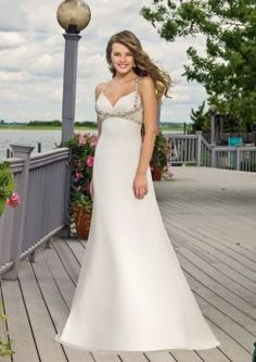 Mori Lee Voyage 6301 Wedding Dress $250