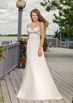 Mori Lee Voyage 6301 Wedding Dress $250