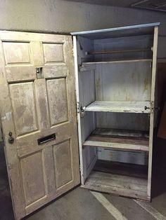 Repurposing Early to mid Century Doors into Storage   Hometalk