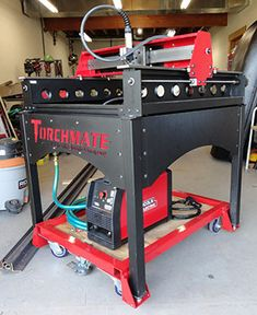 DIY Dolly for Torchmate® Growth Series™ 2x2™ CNC plasma cutting system