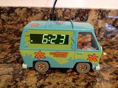 Scooby Doo Mystery Machine Alarm Clock with Night Light | eBay