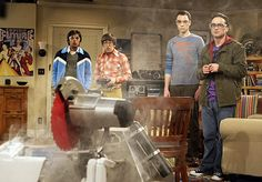 Sheldon, Leonard, Raj and Howard, Big Bang Theory