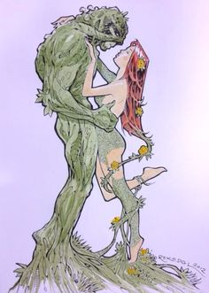 Swamp Thing & Poison Ivy - Rahsan Ekedal
