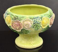 shopgoodwill.com: Roseville Rozane Pottery Pedestal Vase Vintage