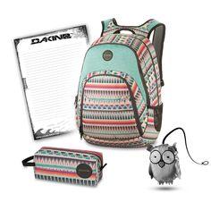 Streng limitiert! Die sensationellen Dakine Schulsets erhältst du exklusiv nur hier im Dakine Shop! Hol dir den trendigen Dakine Eve 28L Schulrucksack mit Laptopfach mit dem farblich passenden...
