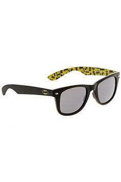 """Are you Bat enough? """"DC Comics Batman Retro Sunglasses from Hot Topic"""""""